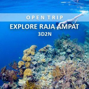 open trip explore raja ampat alamindonesia