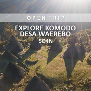 open trip komodo desa waerebo alamindonesia
