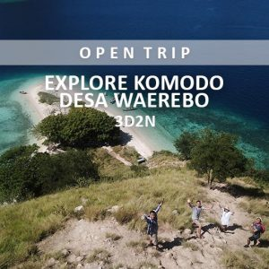 open trip komodo waerebo alamindonesia