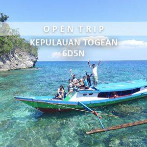 open trip pulau togean alamindonesia