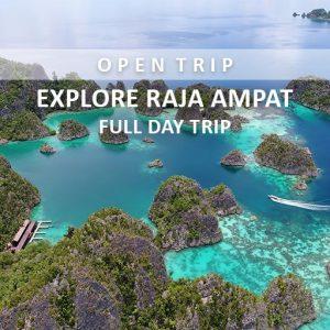 open trip raja ampat full day trip alamindonesia