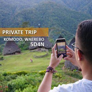 private trip komodo desa waerebo alamindonesia